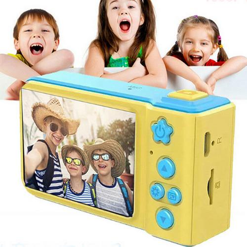 Mini Children Camera Kids Digital Camera Toy 1080p HD 2inch Large Screen Cute Camera Toy Children Birthday Gift Educational Toy