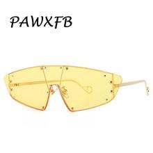 PAWXFB 2020 Retro Rimless Cat Sunglasses Women Brand Designer Mirror Trendy Eye Sun Glasses Shades uv400