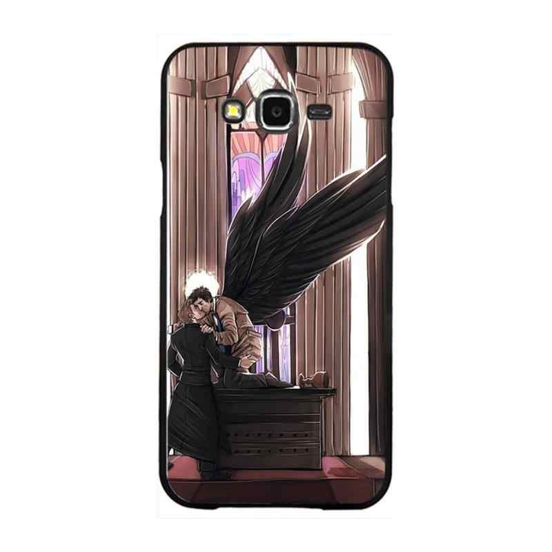 PENGHUWAN Supernatural TV Movie Foto Personalizzata Cassa Del Telefono Morbida Per Samsung Galaxy J7 J8 J3 J4 J5 J6 Più 2018 prime