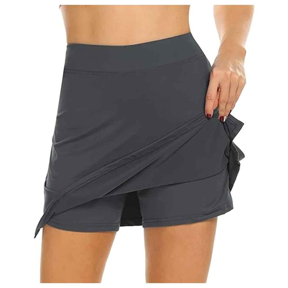Frauen Aktive Leichte Rock Laufen Tennis Golf Workout Sport Heißer Verkauf Mode Skorts Mit Unterwäsche Für 2020 Sommer Damen