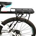 Велосипедный багажник, подставка из алюминиевого сплава, 50 кг, полка для груза, держатель для сумки, инструмент для установки MTB