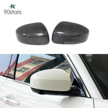 Замена 1:1 и добавить на Стиль Реальные углеродного волокна крышка зеркала заднего вида для Infiniti FX35 FX37 2009 2010 2011 2012 2013 2014