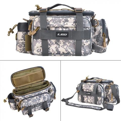40x17x20cm saco de pesca multifuncional a prova dmultifunctional agua ao ar livre cintura bolsa de