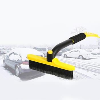 Samochód łopata do śniegu zagęścić metalowy pręt szczotka do śniegu odszranianie łopata De-skrobaczka wycieraczki szyby lodu do usuwania śniegu skrobak tanie i dobre opinie CN (pochodzenie) Car Snow Shovel Snow Brush De-ice Scraper De-ice Wiper Windshield Ice Snow Remover