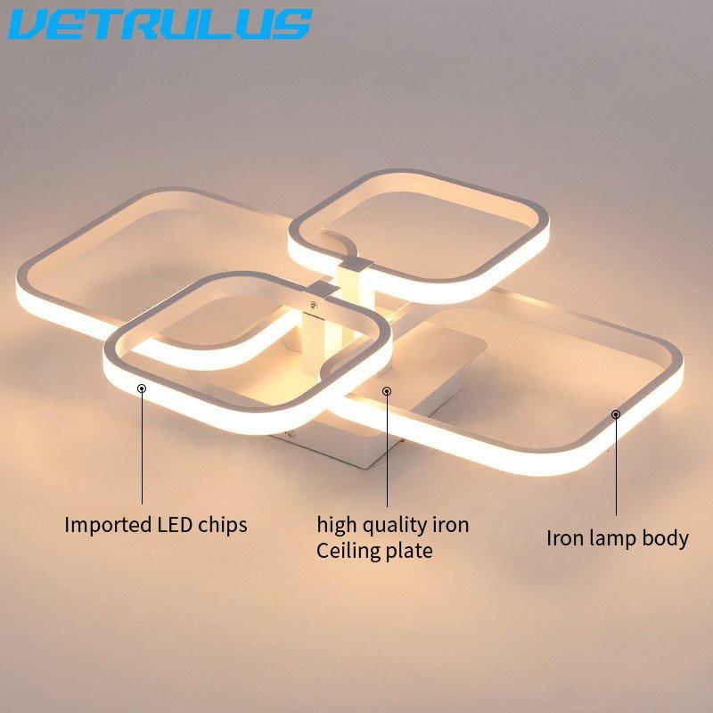 luminarias de teto modernas led luminarias teto com lustre aluminio 04