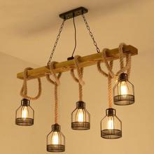 Чердак подвесной светильник столовая Ресторан Кафе гостиная