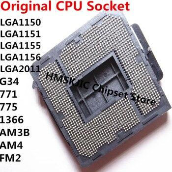 LGA 1150 1151 1155 1156 2011 771 775 1366 AM3B AM4 AM2 FM2 Motherboard Mainboard Löten BGA CPU Sockel halter mit Zinn Kugeln 1