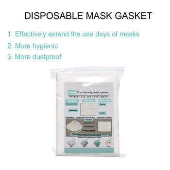 10/20/50Pcs Skin Friendly Mask Gasket Respirator Mask Filter Cotton Mask Filter Cartridge Prevent Second-hand Smoke