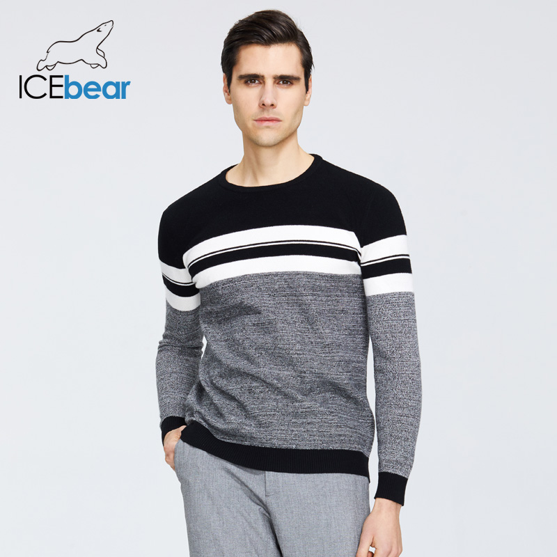 ICEbear 2020 Spring New Male Sweater Casual Men's Pullover Brand Men's Clothing  1723 3