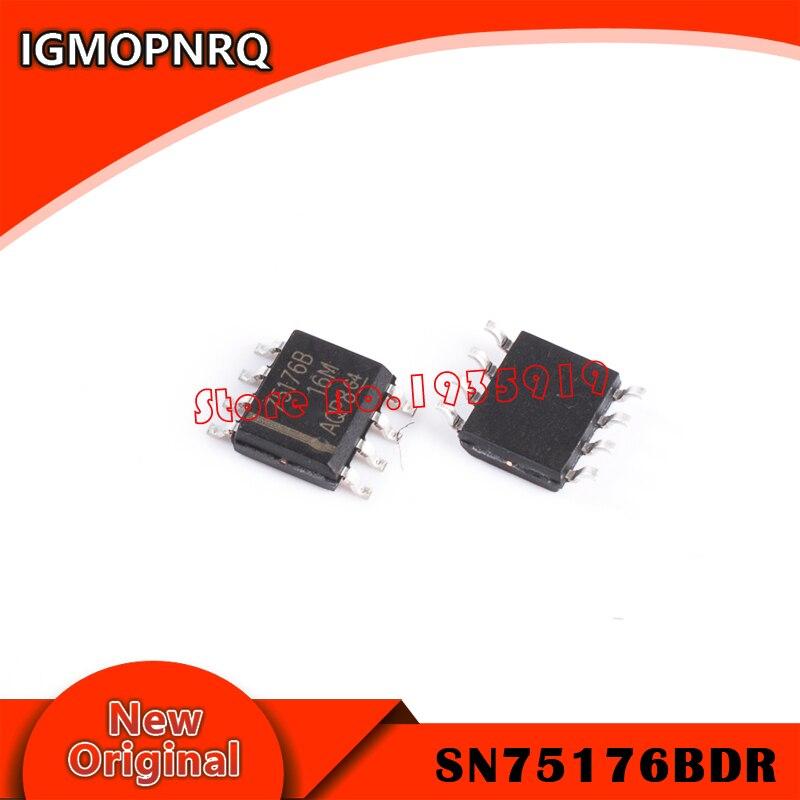 100PCS SN75176BDR TI IC DIFF BUS TXCVR 8-SOIC NEW