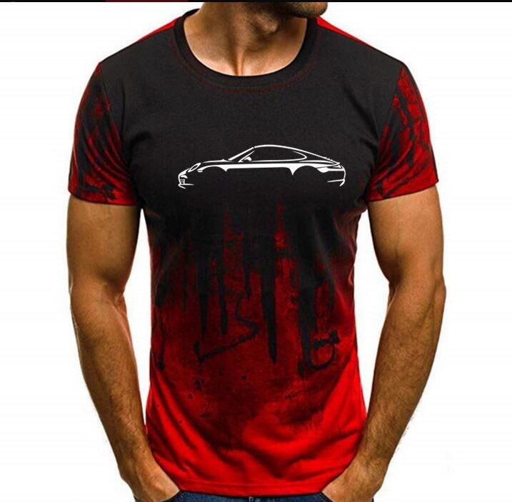Porsche Boxster 718 Inspired Car Art Men's T-Shirt