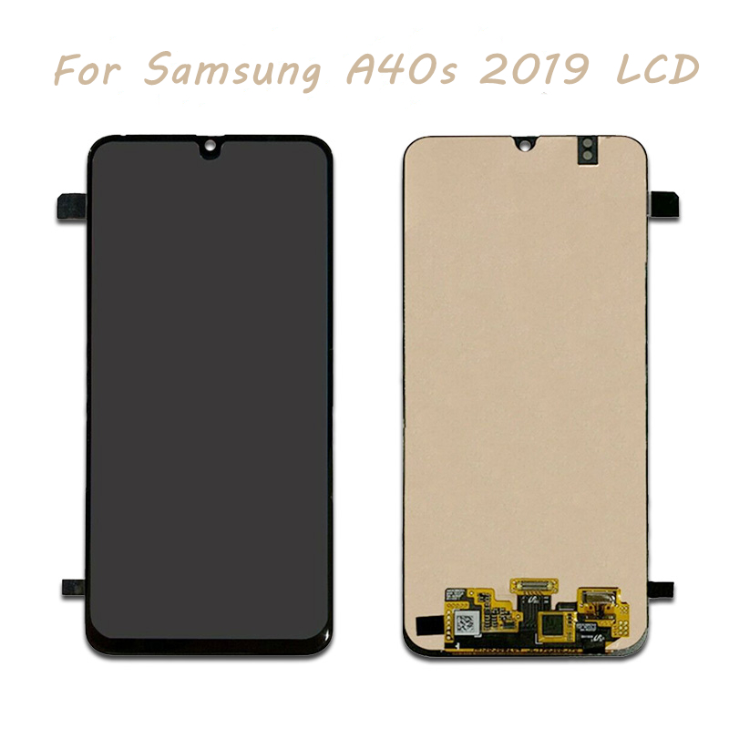 Incell 6.4inch <font><b>LCD</b></font> For <font><b>Samsung</b></font> Galaxy <font><b>A40S</b></font> <font><b>Lcd</b></font> Display With Touch Panel Glass Screen Digitizer Assembly Free Shipping image