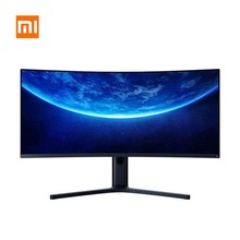 Xiaomi Gebogen Gaming Monitor 34-Inch 3440*1440 Wqhd 21:9 Brengen Vis Scherm 144Hz Hoge Refresh Rate 121% Srgb 1500R Kromming(China)