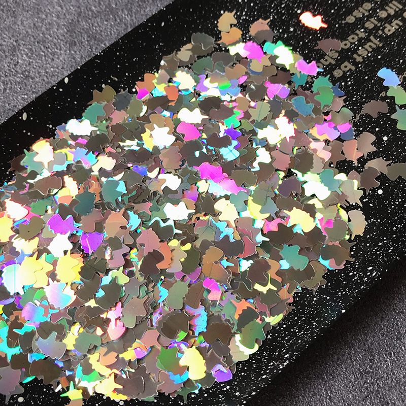 Boxi 10g Glitter Slime Additives Animal Iridescent Sequins Supplies Sprinkles Filler For Fluffy Cloud Clear Slime Clay Toys