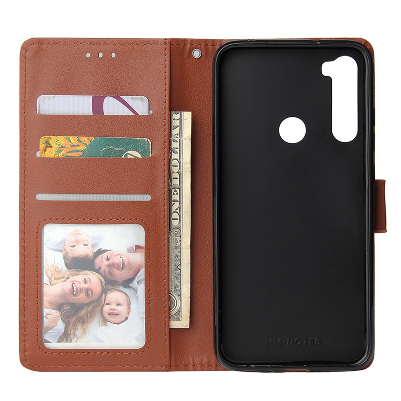 Leather Wallet Case Flip Cover for Xiaomi Redmi Note 8 7 6 5 4 Pro 8A7A 6A 5A 4X 5X 5 Plus Protect Cover 10