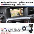 HD фронтальная камера заднего вида для Volvo V40 V60 XC60 S60 S60L S80L 2015-2020 2018 2019 Автостоянка вспомогательный декодер аксессуары