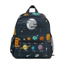 ALAZA Backpack schoolbag Kids Starry sky Kindergarten Preschool Bag for Toddler Suitable for 3-8 years old Backpacks Cute bags(China)