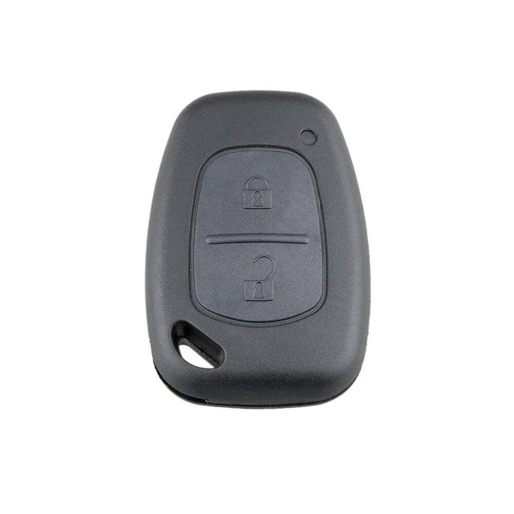 2 botones de control remoto de la llave del coche para Renault Trafic voxhall Opel vibrador para Nissan Primastar Fob Case