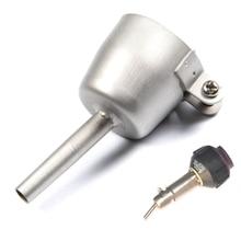 цена на 8mm Desoldering Smd Nozzle For Hot Wind Air Gun Soldering Resistant Heat Gun Nozzle Blower Plastic Welding Tip Mouth Tubular