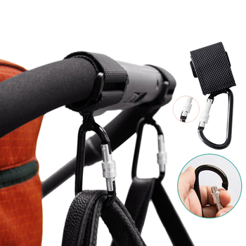 2pcs/lot Baby Stroller Accessories Multi Purpose Car Hook Shopping Pram Props Hanger Metal Convenient Hooks