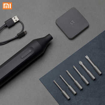 Xiaomi Mijia S2 Bits Electric Screwdriver Manual Automatic Power Tools Integrated Cordless 1500mAh Rechargeable Screwdrivers - Category 🛒 All Category