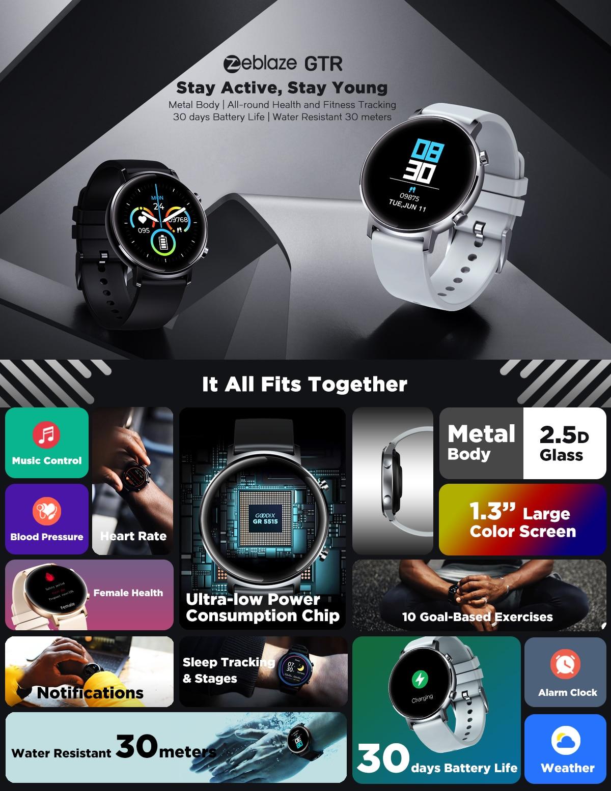 Zeblaze GTR Smartwatch 1