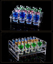 Shot Glass Small Glass Cup Liquor and Spirits Glass Shot Glasses for Vodka Wine Beer Cocktail Wedding Glass кружка liquid lab shot glass erlenmeyer flask