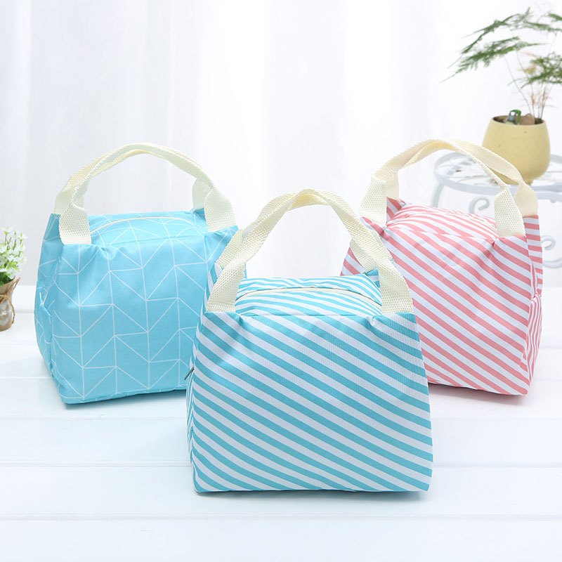 2020Cactus Lunch Bags Portable Insulated Oxford Thermal Food Pack Picnic Bags For Women Kids Functional Pattern Cooler Lunch Box