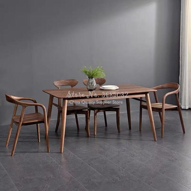 High Quality Classic Wooden Dining Chair  3