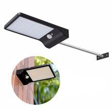 купить Hot Sale LED Solar Power Street Light PIR Motion Sensor Lamps Garden Security Lamp Outdoor Street Waterproof IP65 Wall Lights по цене 831.07 рублей