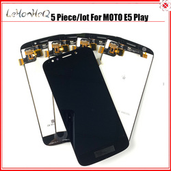 5 piece/lot LCD For Motorola MOTO E5 Play LCD Display Touch screen Digitizer Assembly For MOTO E5 Play XT1920 LCD Screen