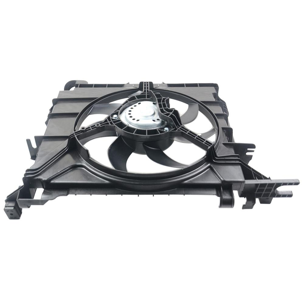 AP02 Cooling Fan Motor Assembly 0002009323 For Smart Fortwo Base/ Passion/ Pulse/ Pure/ Brabus/ Pearlgrey Convertible 2007-2015