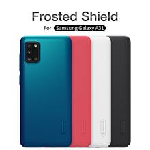 For Samsung Galaxy A31/A01/A11/A41/A51/A71 case A71 5G Cover case Nillkin Frosted Shield Hard plastic Back cover case protective frosted plastic back case for samsung galaxy note 3 white
