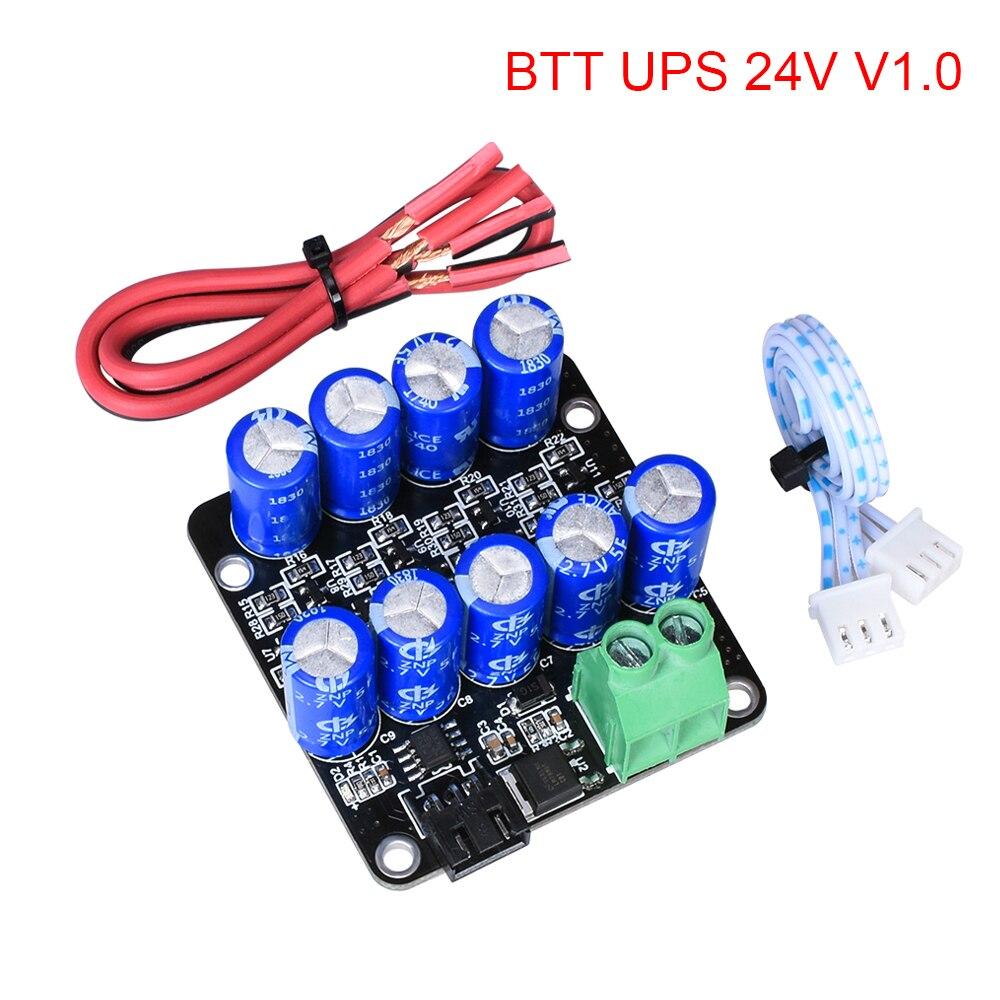 BIGTREETECH BTT UPS 24V V1.0 Module reprendre l'impression capteur de Module de mise hors tension pièces d'imprimante 3d pour SKR V1.3 MINi E3 SKR Pro