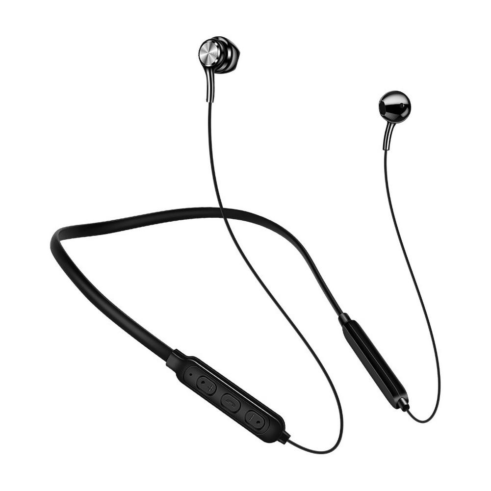 Bluetooth Earphones Wireless Magnetic Hanging Neck Headphones Noise Conceling Handsfree With Mic for <font><b>Xiaomi</b></font> <font><b>RedMi</b></font> Huawei image