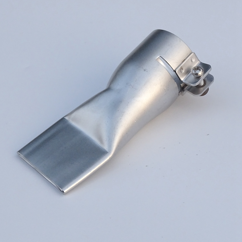 40mm Flat Wide Mouth Tubular Nozzle For Plastic Welding Gun/Hot Air Heat /For Plastic Welder Mouth
