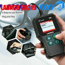 Launch X431 Creader 319 CR319 автоматический считыватель кодов полный OBDII EOBD OBD Автомобильный сканер диагностический инструмент автомобильный OBD2 сканер запуск