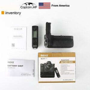 Image 2 - US Captain MK A7R IV Pro הסוללה עבור Sony A7R4 A9 Ⅱ מצלמה אנכי תריס פונקציה עם אלחוטי מרחוק VG C4EM