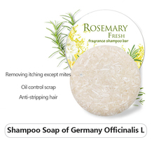 РОЗМАРИН Fresh Solid Frangrance Shampoo Bar 100% 25 Natural Organic Conditioner Scalp Soothing Oil Control Repair Hair Soap TSLM2