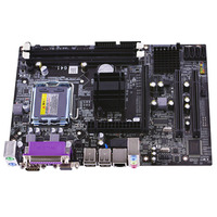 G41 Computer Desktop PC Motherboard LGA 771 Support DDR3 Quad Core Dual Core Dual PCI Solid Capacitor Mainboard IDE SATA 2.0