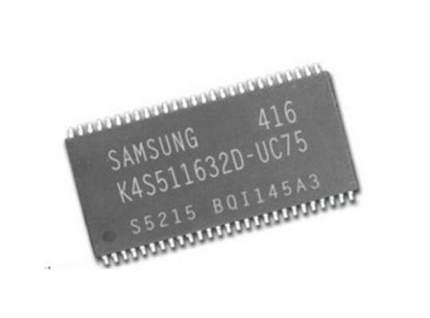 10pcs/lot K4S511632D-UC75 K4S511632D TSOP-54 64M SDR Memory Chips