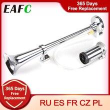 Universal 17inch 150DB Loud Car Air Horn 12V/24V 180 Hertz Single Trumpet Compressor Bocina for Trucks Cars Automobiles