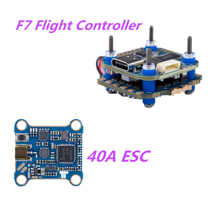 IFlight SucceX-D 20*20 Mini F7 TwinG Stack / 40A 2-6S ESC For For RC Quadcopter Multicopter Multirotor DIY Accessories Parts