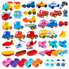 Big Building Blocks Accessories Compatible Large Bricks Children Kids Truck Car Bus City Traffic Series Assembly Educational Toy