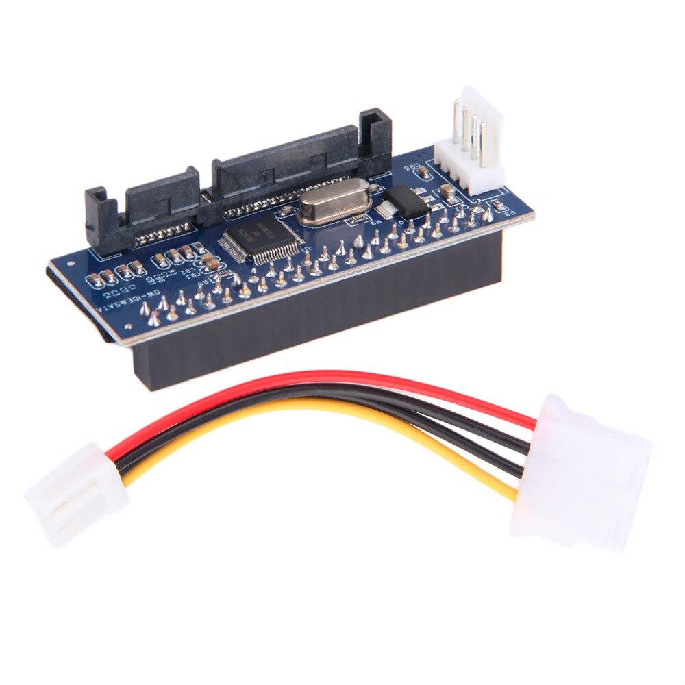 40-Pin IDE Female To SATA 7+15Pin 22-Pin Male Adapter PATA TO SATA Card
