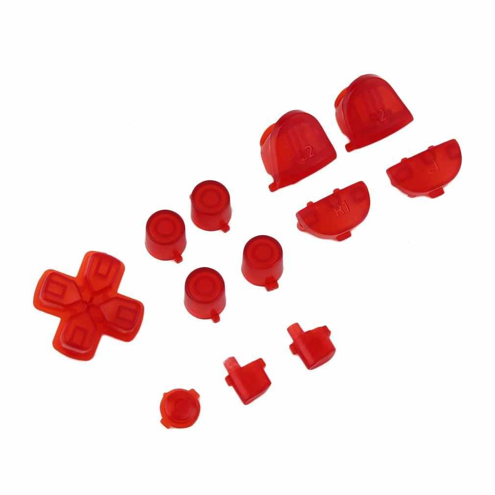 Botões de substituição duráveis do controlador do gamepad profissional para sony para ps4 acessórios do console do jogo de vídeo.