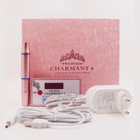 CHARMANT 4 Professional Permanent Makeup Tattoo Machine kit for Eyebrow Tattoo Lip Eyeliner Microblading MTS Pen with Cartridges