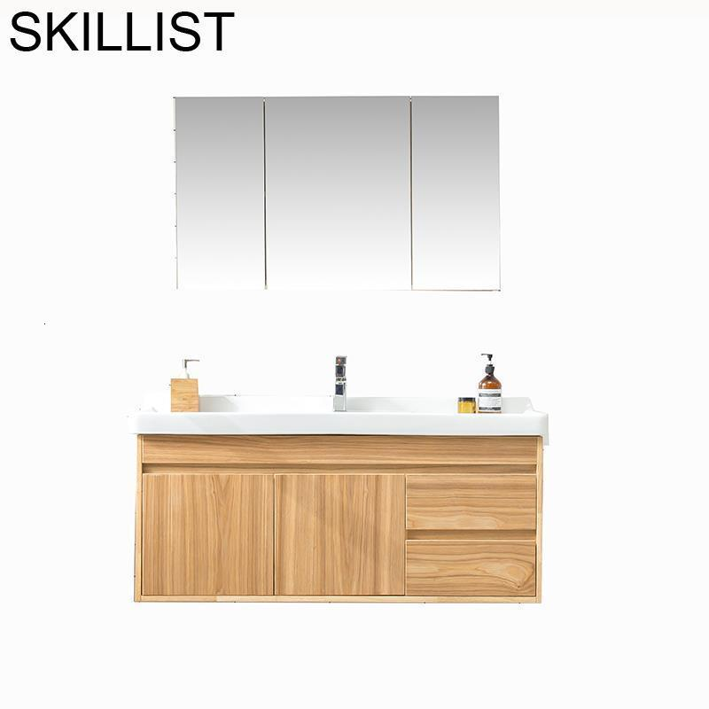 D Zenleyici Badkamer Kast Schrank Toilette Rangement Armoire Meuble Salle De Bain Mobile Bagno Vanity Banheiro Bathroom Cabinet