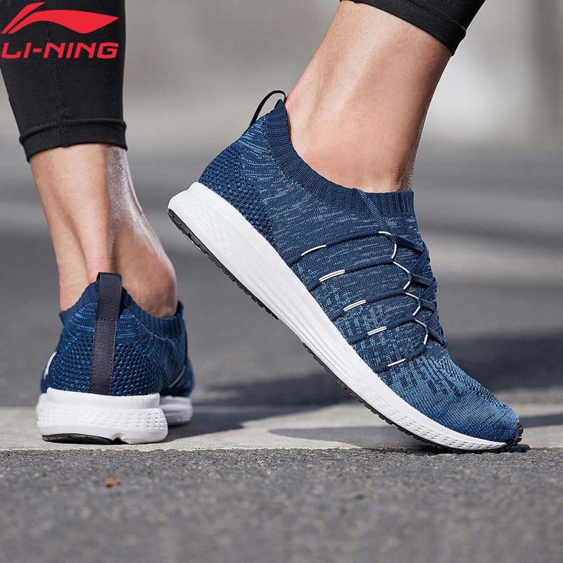 Li-Ning Men SPEED STAR Cushion Running Shoes Light Mono Yarn Breathable LiNing Li Ning Sport Shoes Sneakers ARHN109 XYP721