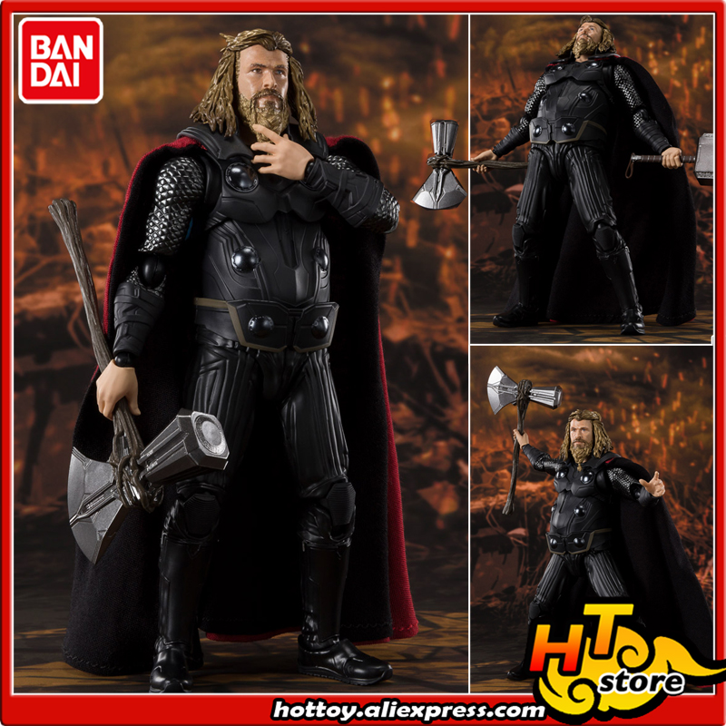 100% Original BANDAI SPIRITS Tamashii Nations S.H.Figuarts (SHF) Exclusive Action Figure - THOR